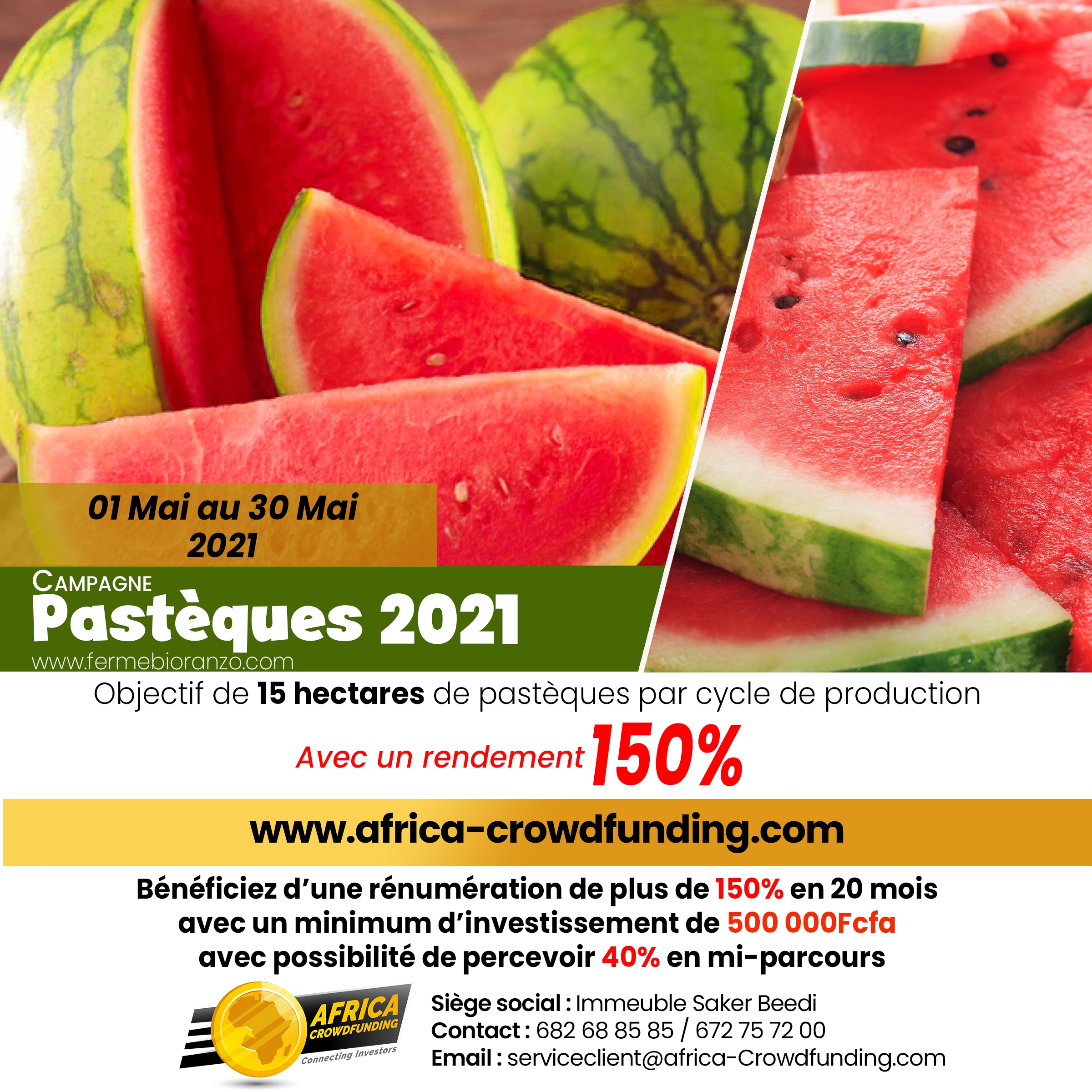 Equity Crowdfunding - Campagne Pastèque